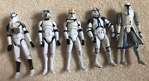 5x Stormtrooper Action Figures (Toys) Hasbro 10.5cm