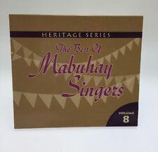 Heritage Series: The Best Of Mabuhay Singers Vol 8 Filipino Cd