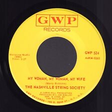 "NASHVILLE STRING SOCIETY ‎– Stand By Your Man (1970 US COUNTRY SINGLE 7"")"