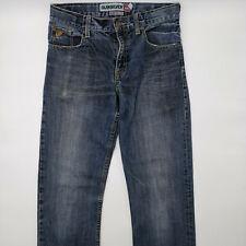 Quiksilver Regular Fit W28 L28 blau Herren Designer Denim Jeans Vintage Hose