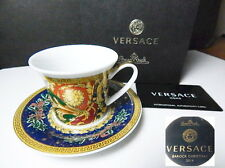 Versace Rosenthal BAROCK CHRISTMAS Espresso Demitasse Cup   Saucer, New in  Box fdb1f849cd2