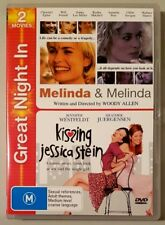 Melinda & Melinda / Kissing Jessica Stein (2disc) DVD GREAT condition (Region 4)