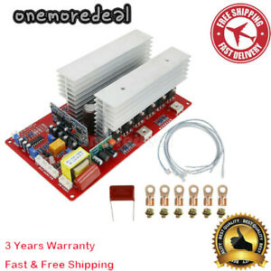 NEW 48V 5500W Pure Sine Wave Inverter Driver Mainboard with MOS Pipe #om7