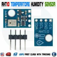AHT10 High Precision Digital Temperature Humidity Sensor Measurement Module I2C