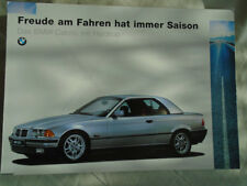 BMW Cabrio Hardtop brochure 1995 Ed 2 German text