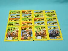 National Geographic Topps Wilde Tiere Animals 20 Tüten / 100 Sticker