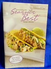 Pampered Chef Season's Best Reciepe Collection Cookbook Spring/Summer 2010