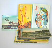 Canada Postcards Lot Of 30 Vintage Folder Halifax Map Perce Quebec Ontario Saska