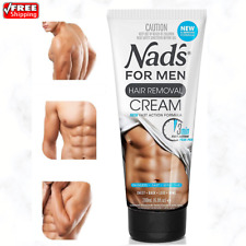 Nad's Men Hair Removal Cream Soothing Depilatory Cream For Male Body Hair 6.8 oz