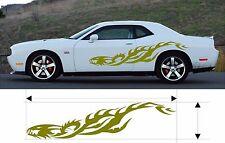 "VINYL GRAPHICS DECAL STICKER CAR BOAT AUTO TRUCK 80"" MT-85-Y"