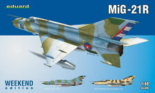 MiG 21 R (LATE) FISHBED H (CUBAN AND SOVIET AF MKGS) 1/48 EDUARD WEEKEND EDITION