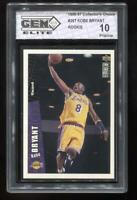 1996-97 Kobe Bryant Collector's Choice #267 Gem Elite 10 Pristine RC LA Lakers