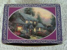 Enchanted Cottage collector's tin 1992 Thomas Kinkade Giftco
