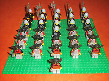 Lego 31 Fright Knights Ritter Castle Figuren Batlord Sammlung Paket TOP