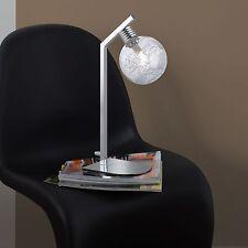 Wofi Lampe de table férõ 1-FLG CHROME VERRE BOULE inclus électrique G9