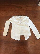 Brand New Splendid Off White Kids Size 10 Sweater