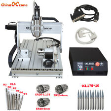 2200W CNC  6040 Router 4 Axis Mach3 USB Engraver Engraving Machine & Ball Screw