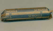 NICE ROLL OF CIRCULATED 1941 CANADA FIVE CENTS, GREAT PRICE!