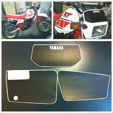 Kit Tabelle Yamaha xt600 43 f 83/86 mod ROSSA - adesivi/adhesives/stickers/decal