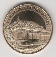2013 TOKEN MEDAILLE SOUVENIR MDP -- 63 870 N°1 PANORAMIQUE DES DÔMES TRAIN