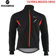 ROCKBROS Cycling Winter Fleece Thermal Warm Jacket Windproof&Water-Resistant UK