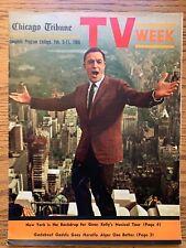 Gene Kelly Feb 5-11 1966 TV WEEK Chicago Tribune LOCAL GUIDE