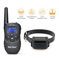 Petrainer Dog Shock Collar with Remote Electric Dog Training Collar Rechargeable