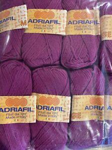 Adriafil Mirage Dk Wool. 10 X 50g Balls