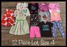 Girls Clothing Lot, 12 Items, Size 4, Gymboree, Ashley Ann, Rock A Baby