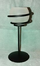 """Partylite 8"""" Glass Votive Spiral Wrought Iron Candle Holder"""