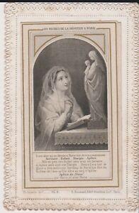 """canivet ouvrant """" degrés de dévotion a Marie"""" Letaille - boumard, n°2"""