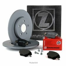 ZIMMERMANN Bremsscheiben + Beläge für MERCEDES W176 W246 W242 CLA C117 hinten