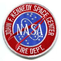 John F Kennedy Space Center NASA Fire Department Patch Florida FL