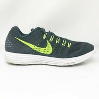 Nike Mens Lunartempo 705461-002 Black Running Shoes Lace Up Low Top Size 11