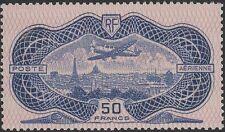 "FRANCE AERIEN 15 "" AVION CAUDRON SIMOUN 50F BURELAGE ROSE "" NEUF x TTB K058"