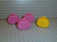 LEGO® Belville 4x Koffer suitcase pink rosa gelb 6203 aus 5880 5855 5870 #153