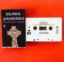 BLACK SABBATH on I.R.S. —HEADLESS CROSS— heavy metal cassette tape