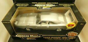 American Muscle ERTL 1969 Dodge Daytona 50th Anniv Mopar Hemi 1/18 Limit. Ed NOS