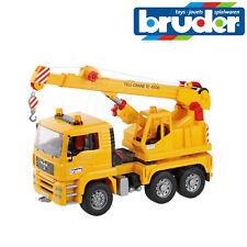Bruder Toys 02754 MAN TGA Gru Camion Gru di lavoro & VERRICELLO Giocattolo Modellino in scala 1:16