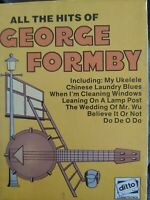 All The Hits of George Formby  Two Audio Cassettes
