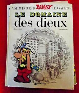 Ancien Album Astérix le Domaine des Dieux 1978 ..........
