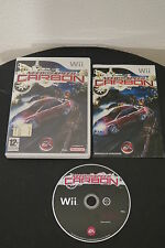 WII : NEED FOR SPEED : CARBON - Completo ! Compatibile Wii U