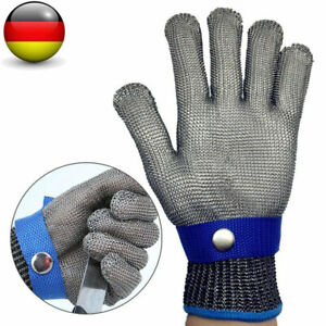 Edelstahl Stechschutzhandschuhe Kettenhandschuh Sicherheits Handschuh Metzger