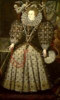 "oil painting handpainted on canvas ""Portrait of Elizabeth I of England"""