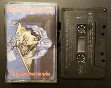 Cassette Tape Iron Maiden No Prayer For The Dying EMI Canada Tested Working