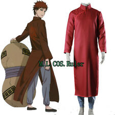 New Japanese Anime NARUTO Gaara Cosplay Costume The eighth generation Clothing