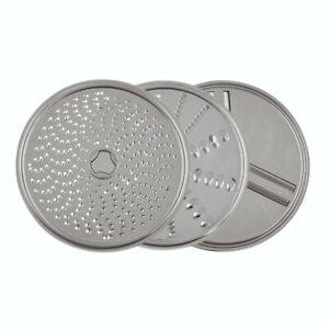 Cloer Durchlaufschnitzler Schnitzelwerk Reibe Zubehör für Küchenmaschine 7001