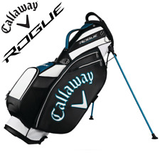 """""""NEW 2018"""" CALLAWAY ROGUE LIMITED EDITION PVC GOLF STAFF STAND / CARRY BAG"""