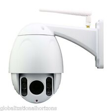 HD 2MP 1080P WiFi IP Camera Outdoor Security Network Pan/Tilt/Zoom IR CCTV Cam