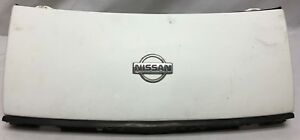 1991 Nissan 300zx OEM Front End Center Nose Piece Panel Grille Assembly WHITE